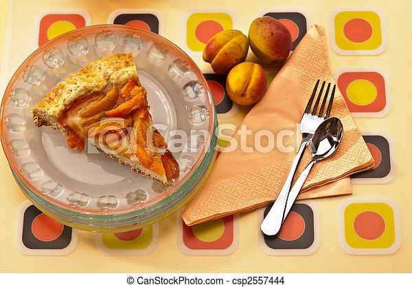 apricot cake - csp2557444