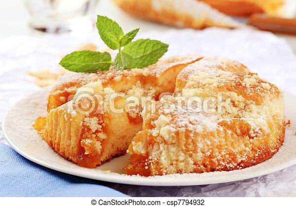 Apricot cake - csp7794932