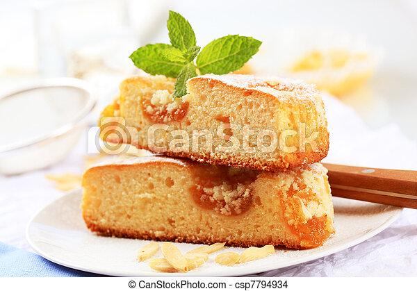 Apricot cake - csp7794934