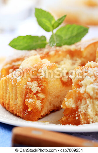 Apricot cake - csp7809254