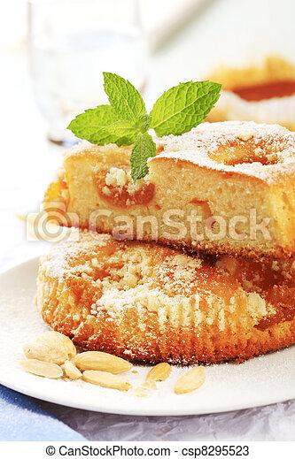 Apricot cake - csp8295523