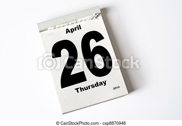 april, 26., 2012 - csp8870948