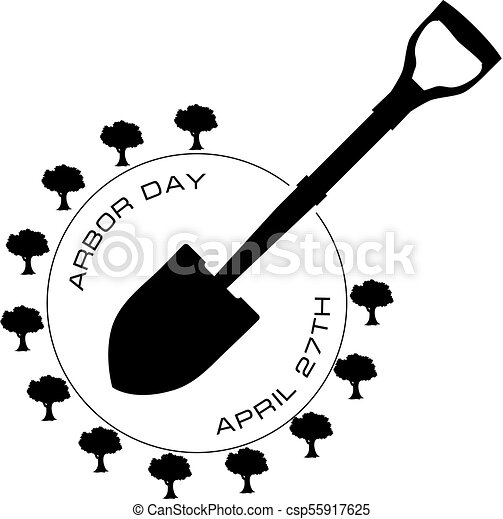 April 27 Arbor Day Symbol For The April Professional Holiday Arbor Day