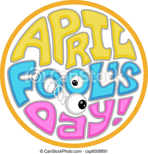 illustration with an april fool s day icon rh canstockphoto com april fools clipart free april fools day clipart