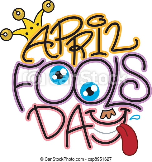 illustration celebrating april fools day vectors illustration rh canstockphoto com april fool clip art free april fool's day clipart free