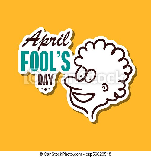 april fools day sticker april fools day funny sticker for rh canstockphoto ca april fool clip art free april fool clip art free