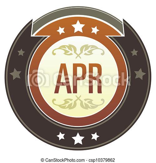 April imperial button - csp10379862