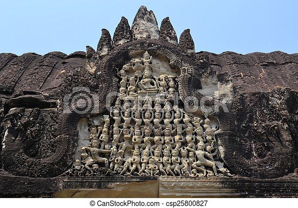Apsara dancers stone carving at angkor wat apsara dancers stone