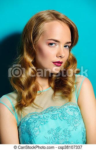 aquamarine dress - csp38107337
