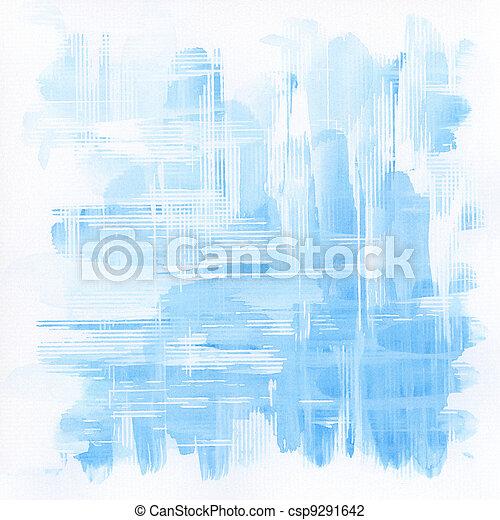 aquarela, fundo - csp9291642