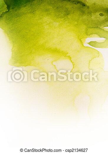 aquarela, fundo - csp2134627