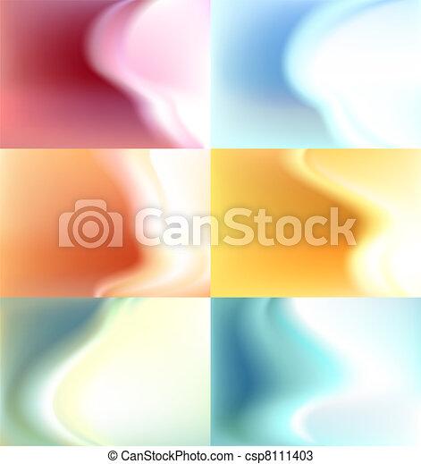 aquarela, fundo, jogo, fundo, borrão - csp8111403