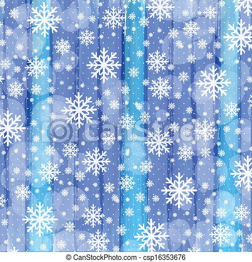 Aquarell weihnachten schneeflocken hintergrund streifen - Aquarell weihnachten ...