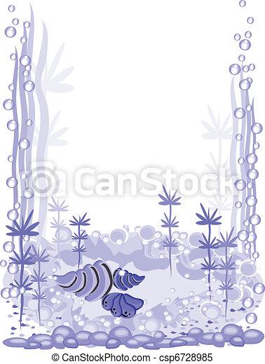 Aquarium frame - csp6728985