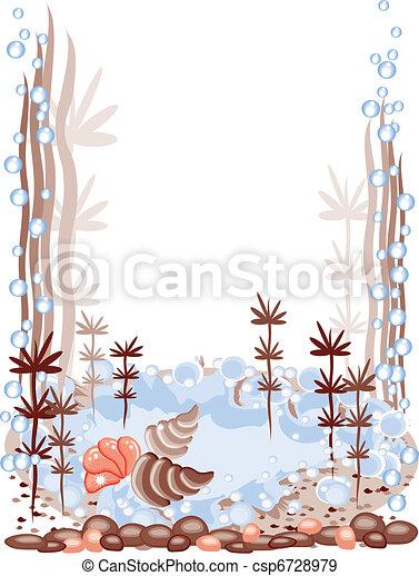 Aquarium frame - csp6728979