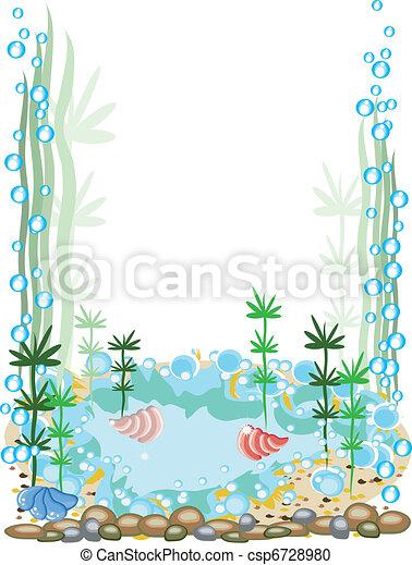 Aquarium frame - csp6728980