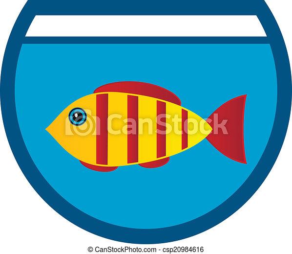 aquarium icon on white background vector illustration vector clip rh canstockphoto com aquarium clipart black and white clipart aquarium gratuit