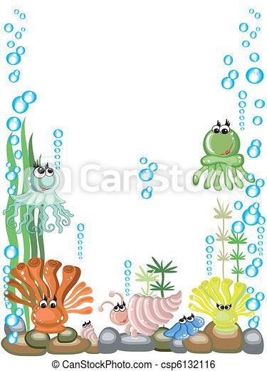 Aquarium,vector - csp6132116