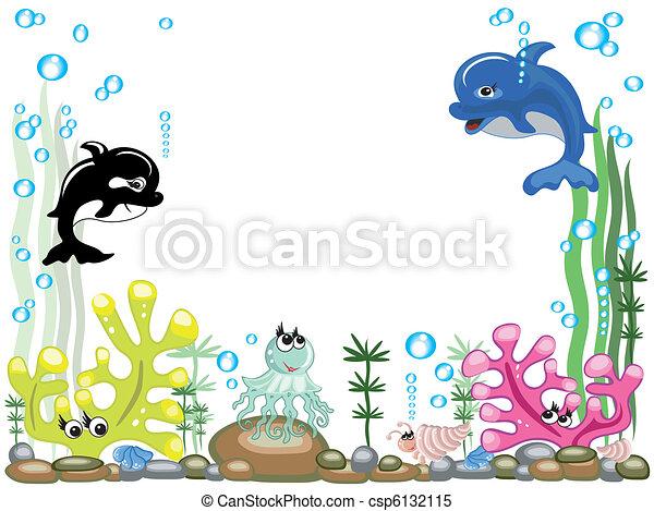 Aquarium,vector - csp6132115