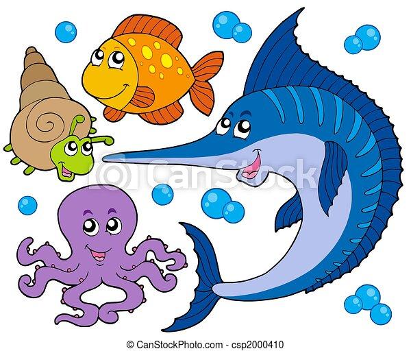 Aquatic animals collection 3 - csp2000410