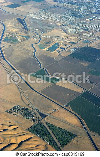 Aqueduct from the Air - csp0313169