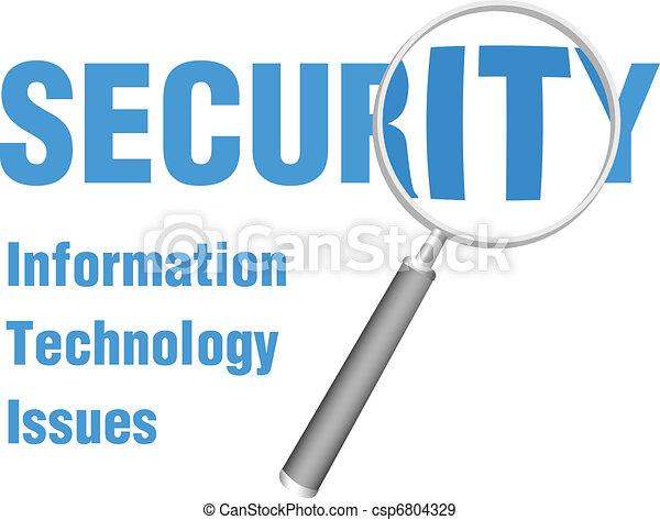 aquilo, foco, segurança, tecnologia, magnificar, edições - csp6804329