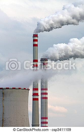 ar, poluição industrial - csp3411109