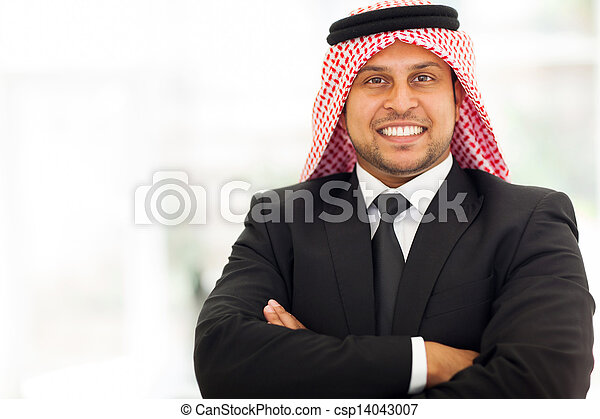 Arab Businessman With Arms Crossed