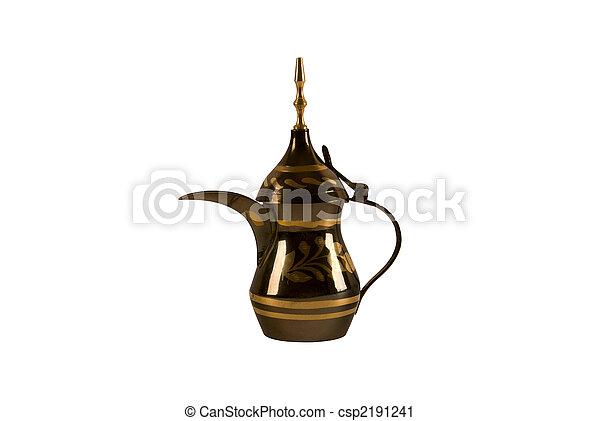 Arab coffee pot - csp2191241