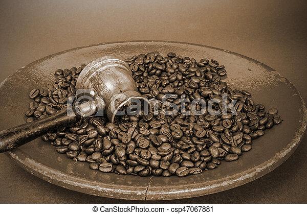 Arab coffee pot - csp47067881
