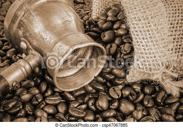 Arab coffee pot - csp47067885