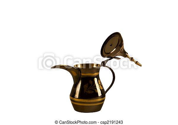 Arab coffee pot - csp2191243