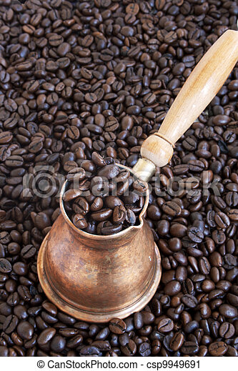 Arab copper coffee pot - csp9949691