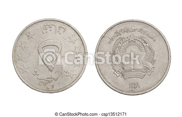 arab, vit, mynter, bakgrund - csp13512171