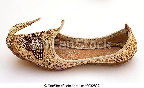 arabe, chaussure - csp0032807