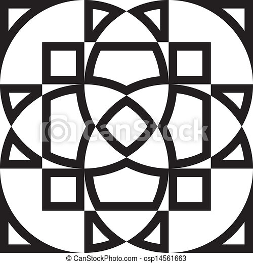 arabesco, astratto, macchiato, progetto, finestra vetro, fondo, cornice - csp14561663