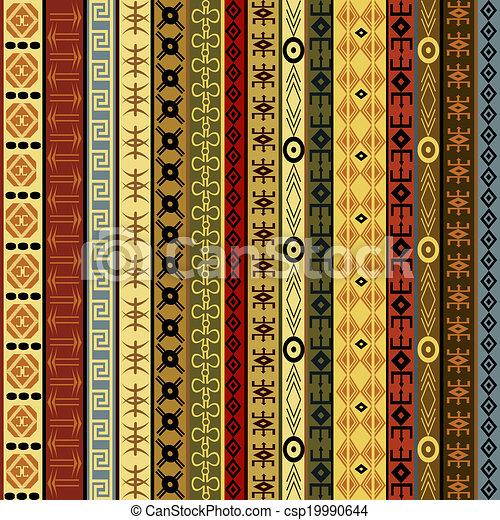 arabescos, fundo, africano - csp19990644