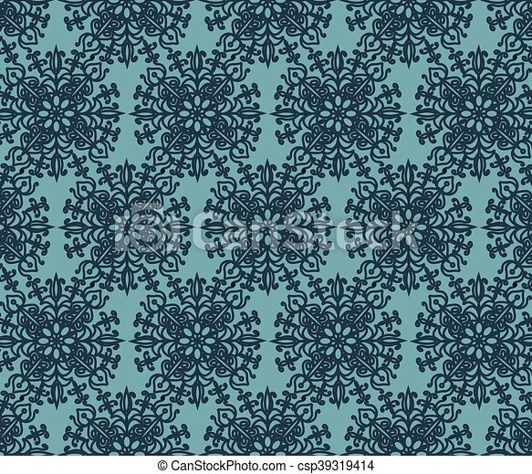 Arabesque Islamic oriental pattern - csp39319414