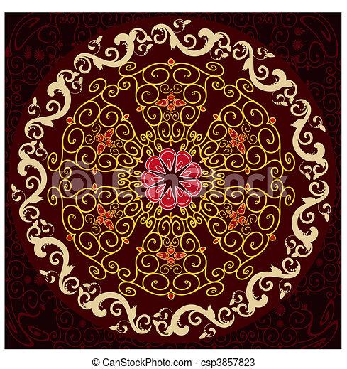 arabesque pattern - csp3857823