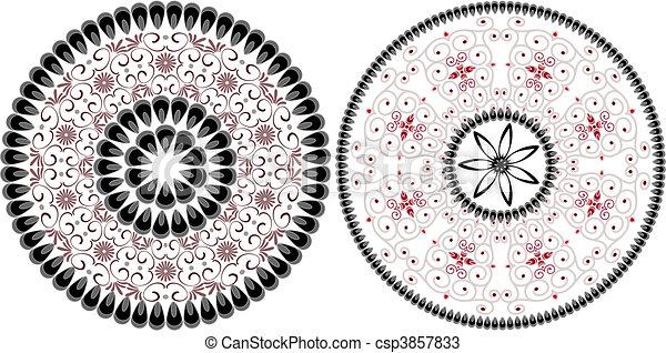 arabesque pattern - csp3857833
