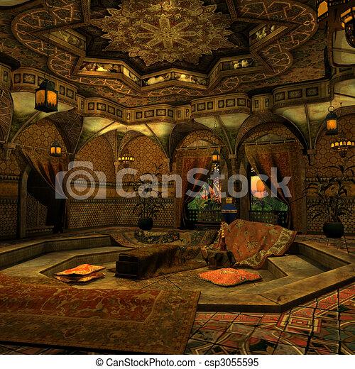 Arabian Backgound - csp3055595