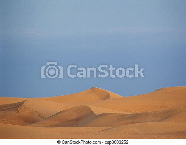Arabian Sand Dunes - csp0003252