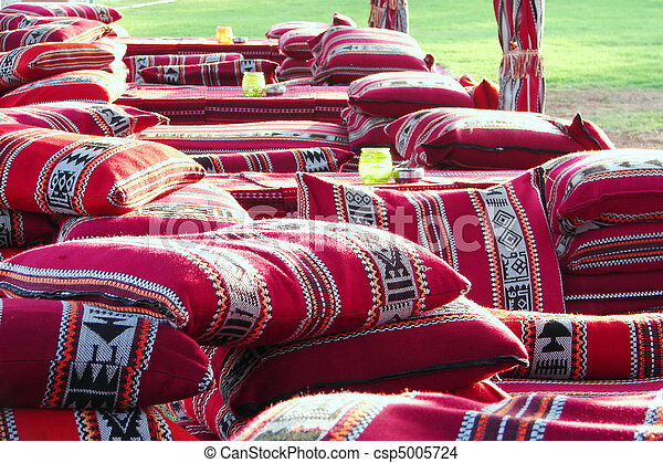 Arabic colorful pillows - csp5005724