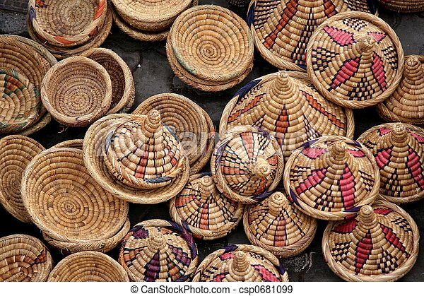 Arabic Crafts Products Stock Photo