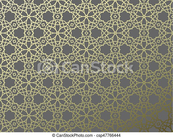 Arabic Girish Seamless Pattern Background For Festive Design Ramadan Kareem Eid Mubarak Vector Illustration Eps10 Canstock