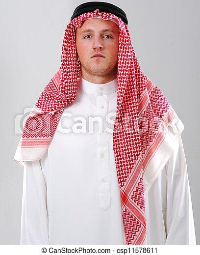 Arabic man portrait - csp11578611