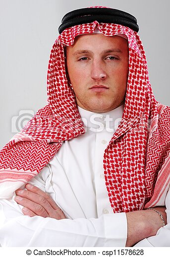 Arabic man portrait - csp11578628