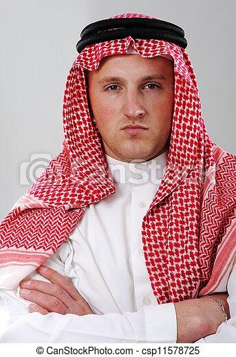 Arabic man portrait - csp11578725