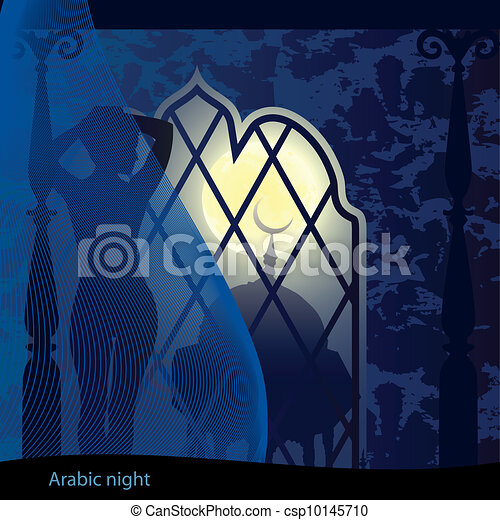 Arabic night - csp10145710