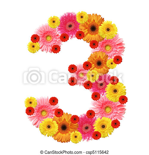 arabic numeral - csp5115642